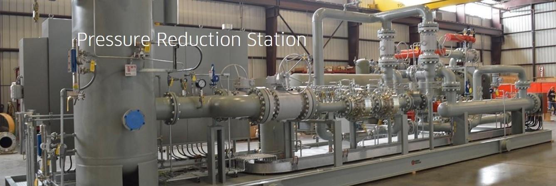 ایستگاه قلیل فشار گاز